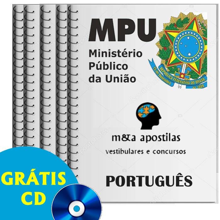 Apostilas concurso técnico ministério público da união